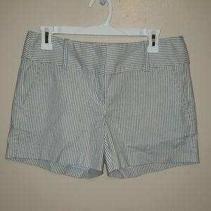 Ann Taylor Pinstripe Shorts